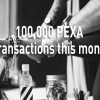100,000 transactions in May
