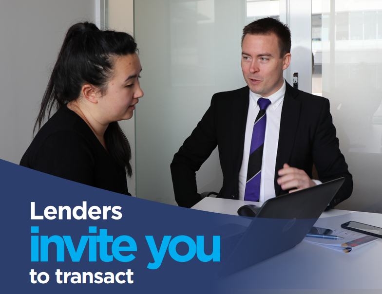 Lenders invite you to transact