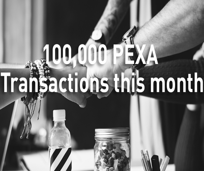 Over 100,000 PEXA Exchange transactions completed in May